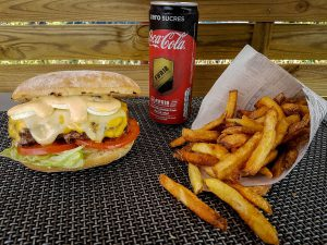 Burger «Le 3 Fromages»